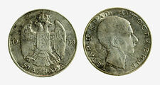 pcc2085_1) YUGOSLAVIA - SERBIA - PETER II° - 50 DINARA SILVER 1938