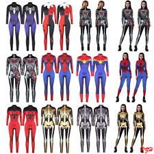 Women Cosplay Catsuit Halloween Costume Jump Suit Zentai Bodycon Fancy Dress