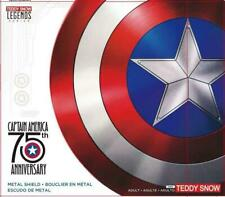 "Marvel legends - Captain America 75 th Anniversary metal shield, Cosplay, 22"""