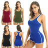Ladies Casual Sleeveless Bodycon Romper Jumpsuit Tights Bodysuit Shorts Pants #H
