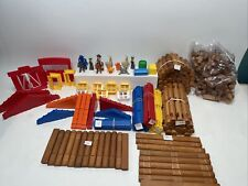 Lincoln Logs – Fun On The Farm Real Wood Logs - Ages 3+