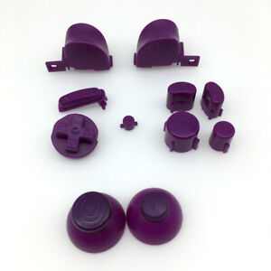 10* Multicolor ABXYZ Buttons+Thumbstick D-pad Mod Set for Nintendo GameCube NGC