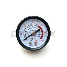 18 Npt Air Or Fuel Pressure Gauge 0 180 Psi Back Mnt 15 Face