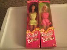 Two Sweetheart Barbie Dolls