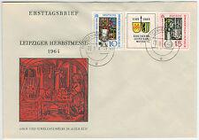 DDR 1964, ZDR. fiera autunno su Blanco-FDC con est., tenendo PF 1052 i