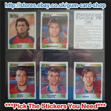 ☆ Panini Europa/Europe '96 (300 to 354) Black Backs *Please Select Stickers*