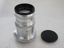 Carl Zeiss Contax rangefinder RF 85mm f:4 Triotar lens with caps, LATE model
