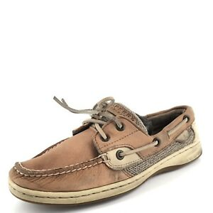 Sperry Top-Sider Sahara Tan Leather Boat Shoes Women's Size 7 M*