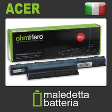 Batteria 10.8-11.1V 5200mAh REALI, EQUIVALENTE Gateway AS10D41 AS10D51