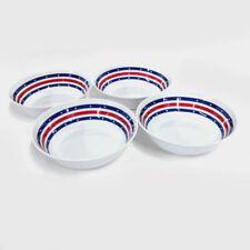 "Smart Home 7"" Patriotic Stars & Stripes Melamine Bowls, Set of 4"