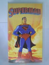 "RARO  VHS Film di animazione "" SUPERMAN "" CVC SELP803 (VHS-1)"