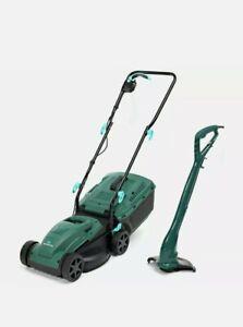 Mcgregor 1200w 33cm Lawnmower Grass Trimmer pack