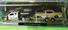 MAISTO RARE ELITE TRANSPORT 2004 FORD F-150/1955 BUICK CENTURY HIGHWAY PATROL