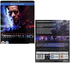 TERMINATOR 2 (1991) THE: JUDGMENT DAY 3D BLU-RAY 2017 RESTORATION T-800 v T-1000