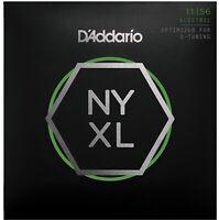 D'Addario NYXL1156 D Tuning Med Top Extra Heavy Bottom 11-56 Guitar Strings
