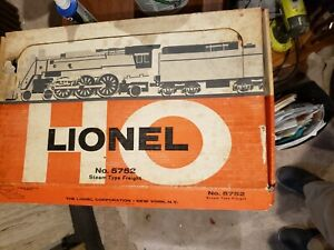 Lionel HO 5752 Steam Type Freight Set incomplete