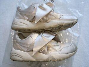 Fenty by Rhihanna Puma Bow Sneakers Beige 6.5