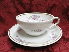Thomas China 7211, Versailles White, Floral: Cup & Saucer Set (s)