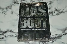 New - Das Boot - The Original Uncut Mini-Series (2-Disc Dvd Set, 2014) - w/ Tin