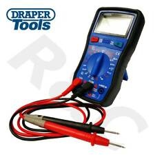 Draper Digital Multimeter Electrical Electricians Voltage Current Tester AC/DC