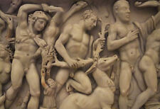 Incorniciato stampa-HERCULES STONE Carving (PICTURE POSTER mythological MITICO ART)