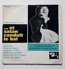 CLAUDE VASORI BO Et satan conduit le bal  Orig French  EP BARCLAY 1962 BIEM