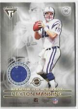 2001 Titanium Peyton Manning & Edgerrin James Dual Relics