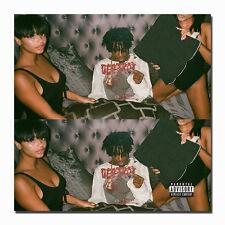Playboi Carti 2017 Mixtape Hip Hop Rap Album Art Silk Poster 14x14 24x24in J891