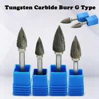 Head Tungsten Carbide 6-16mm Rotary Point Burr Die Grinder 6mm Shank Drill Bits