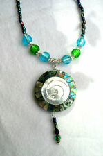 Shell Beauty Round Costume Necklaces & Pendants
