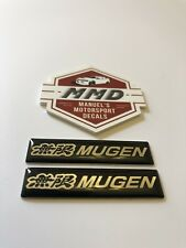 2 X Mugen Badge Decals Type R Civic Integra NSX CR-V S2000 City Odyssey Mugen