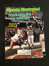 SPORTS ILLUSTRATED JANUARY 31, 1983 - WHAM! BAM! IT'S THE REDSKINS! DARRYL GRANT