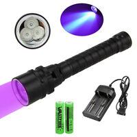 10000LM XM-L T6 LED Diving Scuba Flashlight Underwater 100M Torch 18650//26650