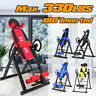 Inversion Table Back Therapy Hang Gravity Pain Relief Heavy Duty Lumbar Fitness