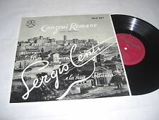 "(5186) Sergio Centi – Canzoni Romane - Songs From Rome - 25cm/10"""