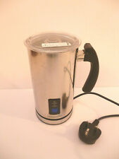 Andrew James Electric Milk Frother Warmer And Heater Jug Non Stick Coating 500W