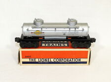 Postwar Lionel 6465 Sunoco 2-Dome Tank Car~All Original~w/Nice OB