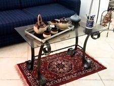 Tavolino  in ferro TAVOLINETTO TAVOLO ARREDO ARREDAMENTO SALOTTO EISEN TABELLE