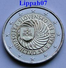 Slowakije speciale 2 euro 2016 EU President UNC