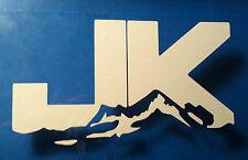 "Jeep JK Rock Crawler 5"" x 3"" Vinyl Car Decal Sticker LOT OF 2 decals"