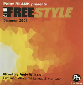 POINT BLANK presents CLUB FREESTYLE Summer 2001 - CD Album & Booklet - CF2001CD