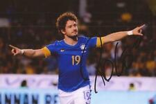 BRAZIL & CHELSEA: ALEXANDRE PATO SIGNED 6x4 ACTION PHOTO+COA