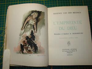 L'EMPREINTE DU DIEU - Maxence Van der Meersch - Athêna - Relié