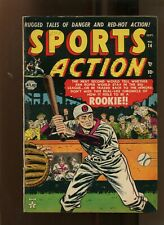 SPORTS ACTION #14 (6.0) ROOKIE!! 1952