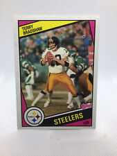 1984 Topps Football #162 - Terry Bradshaw, Pittsburgh Steelers
