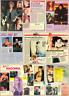 MADONNA - 1988/1990 LOTTO DI ARTICOLI CLIPPINGS - PAGINE INTERE NO RITAGLI