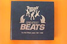 BOY TOMMY GREATEST BEATS 1981 - 1996 BOX 2 CD + INSERTO