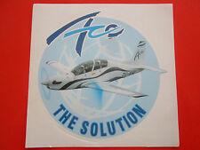 AUTOCOLLANT STICKER AUFKLEBER ATLAS AVIATION ACE TRAINER AIRCRAFT