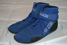 Sparco 00127013A Shoes race competition shoes blue race 2 size 13 us light used
