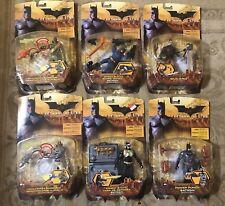 Batman Begins - Lot of 6 Action Figures - 2005 Mip!